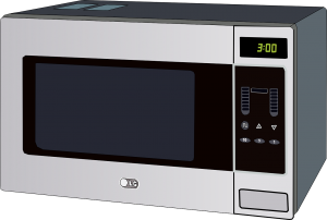 Microwave Countertop Oven Radiation