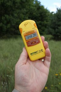 Measuring Normal Background Radiation with a Meter